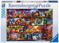 2000 Teile Ravensburger Puzzle Welt Der Bücher 16685