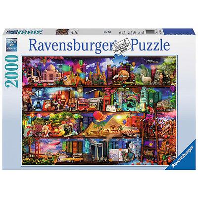 2000 Teile Ravensburger Puzzle Aimee Stewart Welt der Bücher 16685