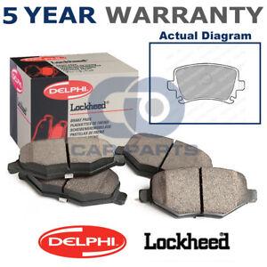 set of rear delphi lockheed brake pads for audi seat skoda lp1824 ebay rh ebay co uk