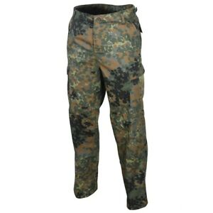 US-Ranger-BDU-Trousers-Flecktarn-Camo-Combat-Army-Pants-Military-All-Sizes-New