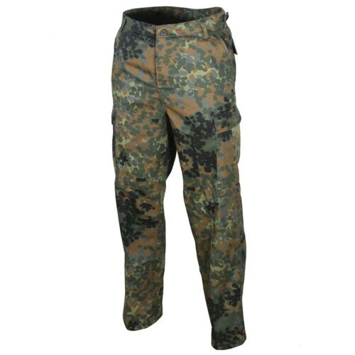 Flecktarn Camo Combat Army Pants Military All Sizes New US Ranger BDU Trousers