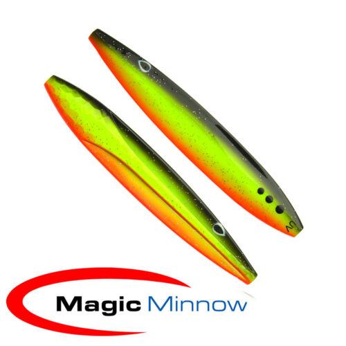 Meerforellenblinker MagicMinnow D360°ca.11,1cm//28g #MM02208 UV Tyskeren
