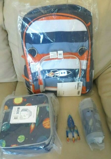 Pottery Barn Solar System Large Backpack Lunch Box