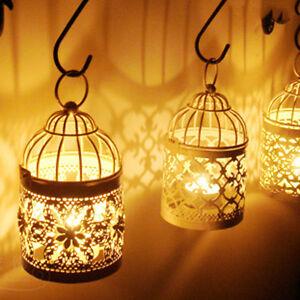 Maroc-Style-Lantern-Rustic-Metal-Birdcage-Tealight-Holder-Candle-Candlestick