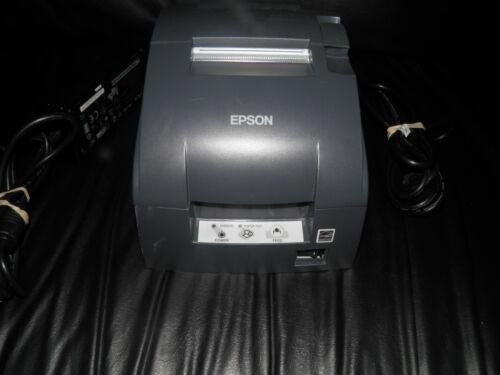 Epson TM-U220B Dot Matrix POS Receipt Printer  M188B Ethernet w power cable