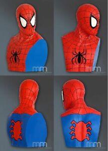 Spider-Man-First-Edition-1-1-Full-Life-Size-Bueste-Statue-auch-Mist-Oxmox-NEU