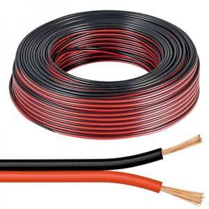 Intellective 100mt Matassa Cavo Piattina Rosso Nera 2x0,75mm Alimentazione Elettronica Led Rapid Heat Dissipation Electrical Equipment & Supplies