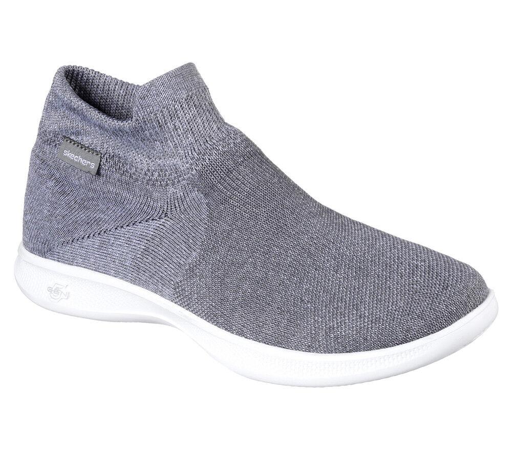 NEW SKECHERS Women Sneakers Trainers sock-fit GO STEP LITE - ULTRASOCK 2.0 Grey