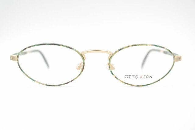 Otto Kern Mod. 9400 170 50 19 135 Verde Oro Mate Ovalado Gafas Lentes Nuevo