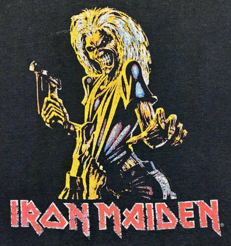 Vintage 80s 1981 IRON MAIDEN Killers Rock Concert… - image 1