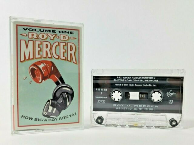 Roy D Mercer How Big A Boy Are Ya Volume 1 Cassette Tape Comedy Ebay Mercer compilations have been released on the capitol and virgin. ebay