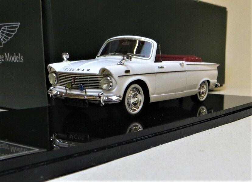 BHM MAJESTY MC05a 1964 SUPER MINX OPEN CONGrünIBLE, Weiß. HAND BUILT, BRAND NEW