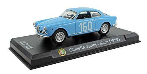 Alfa Romeo Giulietta Sprint Veloce 1956 échelle 1:43 officiel Diecast Voiture Modèle