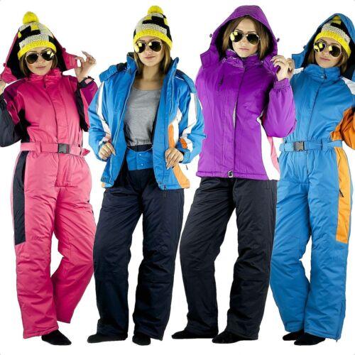 134-170 Schneeoverall Schneeanzug Skianzug Jacke Hose Winter Kinder Mädchen Gr