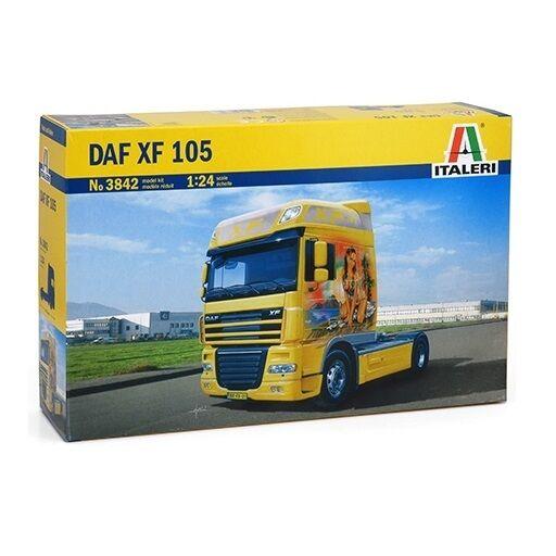 ITALERI DAF XF 105 1 24 MODELLBAUSÄTZE 3842 NEU OVP    Lassen Sie unsere Produkte in die Welt gehen