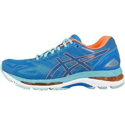 Asics Gel-Nimbus 19 Women Damen Laufschuhe blue coral aqua T750N-4306 Running