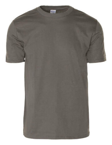 Gildan Herren T-Shirt PREMIUM COTTON T-SHIRT Rundhals Kurzarm Neu G4100