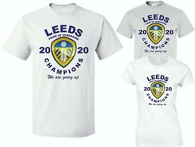Leeds United Champions 2020 Maglietta