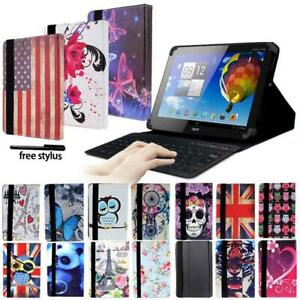 Leather-Stand-Cover-Case-Bluetooth-Keyboard-For-Acer-Iconia-One-Tab-8-034-Tablet