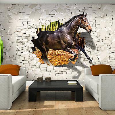 Brilliante    Fototapete Tapete Poster 3D 083748FW 3D Tiger kommt aus der Wand 3