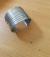 Bracelet 925 Sterling Silver 2 Wide Handmade