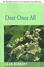 Dear Ones All by Jean Rikhoff (Paperback / softback, 2001)