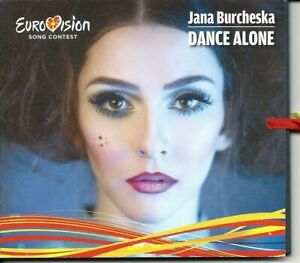 2021 Eurovision - North Macedonia 2017. Dance Alone - Jana Burceska. (Promo CD's
