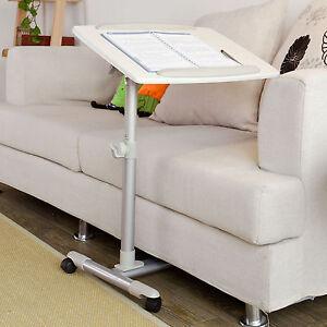 SoBuy-Table-de-lit-avec-plateau-inclinable-a-hauteur-assistee-PC-FBT07N2-W-FR