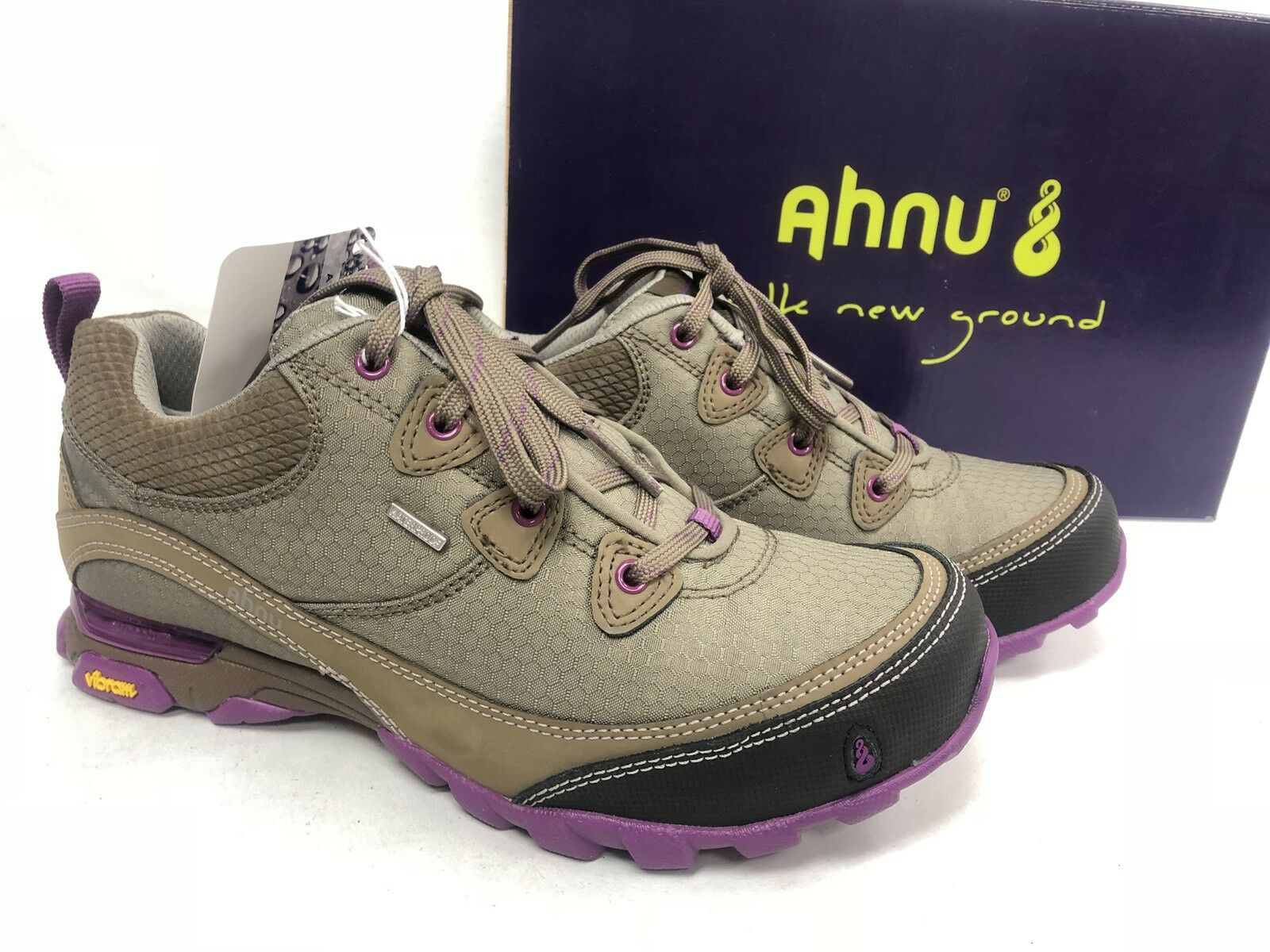 Ahnu Women's Sugarpine WP waterproof AF2421ABRK Alder Bark Women's Shoes