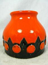 "Beautiful glazed 70´s design  Jasba  "" Relief "" Keramik pottery  vase 1 575 09"