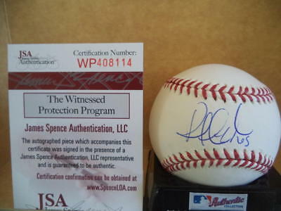 Balls Brilliant Robert Gsellman New York Mets Signed Autographed Ml Baseball Jsa Wp408114 To Adopt Advanced Technology Sports Mem, Cards & Fan Shop