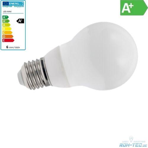 450Lm 6W warm-weiß E27 LED-SMD Leuchte//Birne 3000K