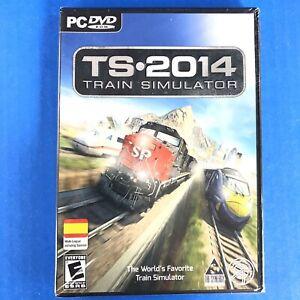 Tri Synergy Train Simulator 2014 - (PC DVD-ROM) NEW