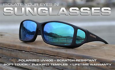 Cocoons Overx Fit Su Spettacolo Occhiali Occhiali Da Sole Polarizzati Uv- Prezzo Ragionevole