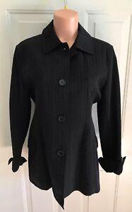 à Nouveau taille matelassé léger moyenne Braetan veste simple noir boutonnage gPzqUYwBY