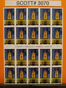 Scott # 3071-Tennessee Statehood Bicentennial - Booklet of (20) 32 Cent Stamps