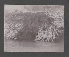 VINTAGE EARLY 1900'S OLD AVALON CATALINA ISLAND CALIFORNIA ROCK FORMATION PHOTO