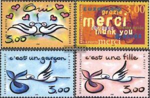 Actif France 3371-3374 (édition Complète) Neuf 1999 Grußmarken DernièRe Technologie