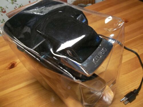 CLEAR VINYL COVER FOR AN INDIVIDUAL ELECTRIC POD CUP COFFEE MAKER