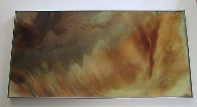Finest Nicholas Mirandon Painting Abstract Space Nature Organic Vintage Surreal Ebay