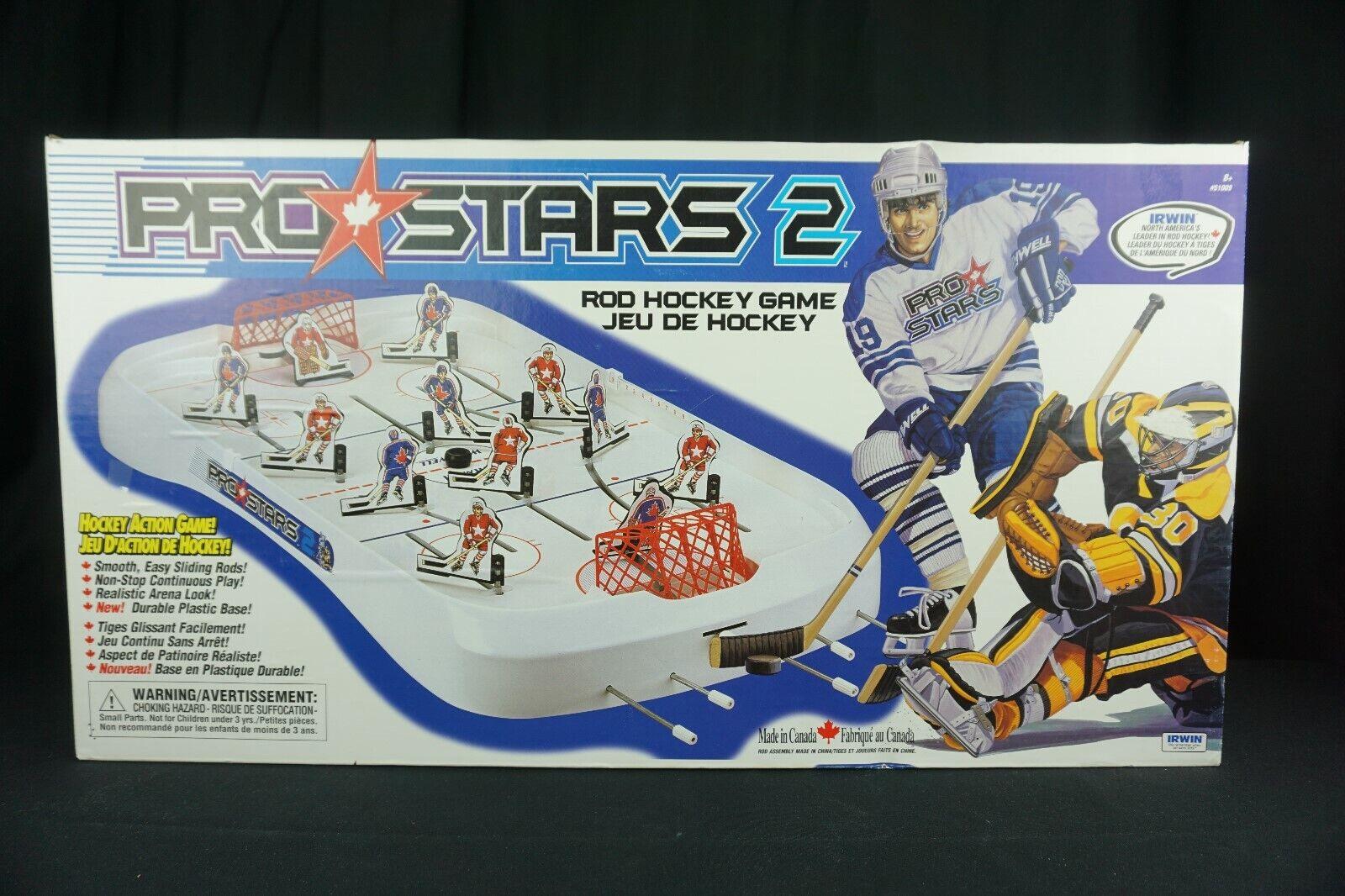 Irwin mesa juego de hockey de las barras de estrellas Pro 2    nuevo