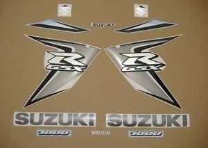 GSX-R 1000 2008 complete decals sticker graphics kit set k7-k8 adesivi наклейки