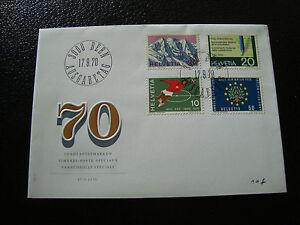 Switzerland-Envelope-1er-Day-17-9-1970-cy14-Switzerland