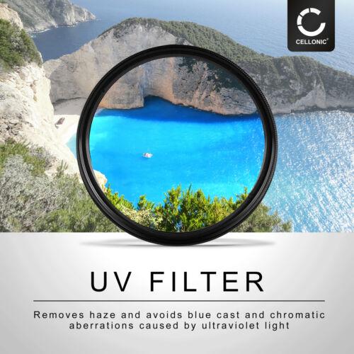 Filtro UV 58mm para Nikon AF-S Nikkor 50 mm f//1.4g AF-S Nikkor 50 mm f//1.8g