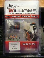 WILLIAMS GUN SIGHT GLOCK MODEL 20,21,29,30,31,32,36, FIBER OPTIC FIXED SIGHT