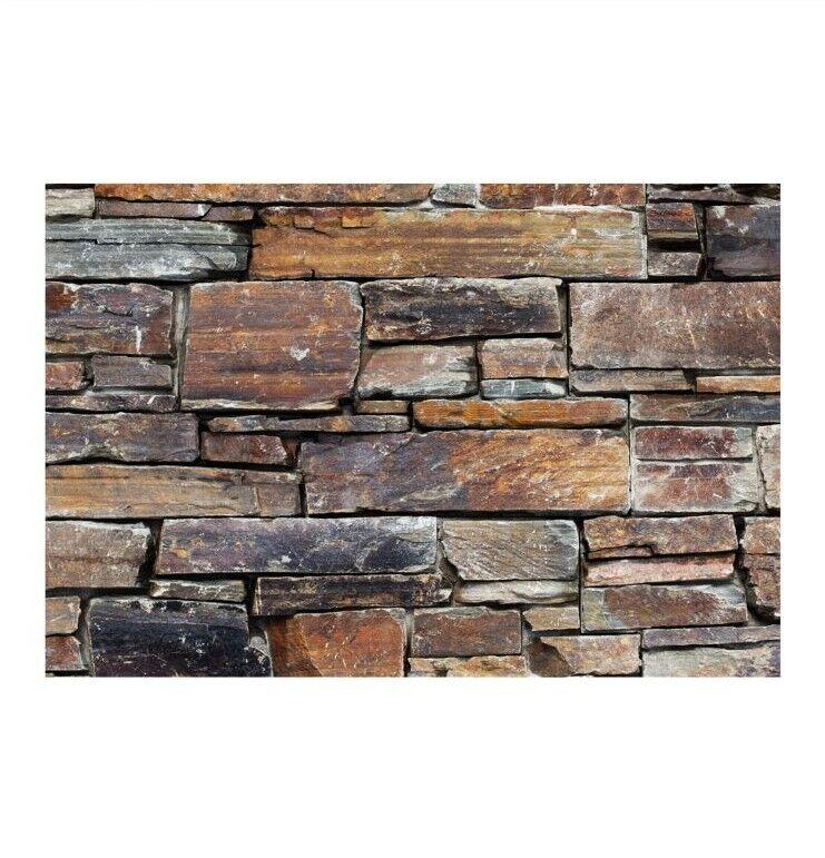 1 qm - W-006 - Naturstein-Wand - Fliesen Lager Stein-mosaik Herne - Wanddesign -