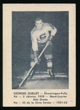 1951-52 Laval Dairy (QSHL) #53 GEORGES OUELLET (Shawinigan)