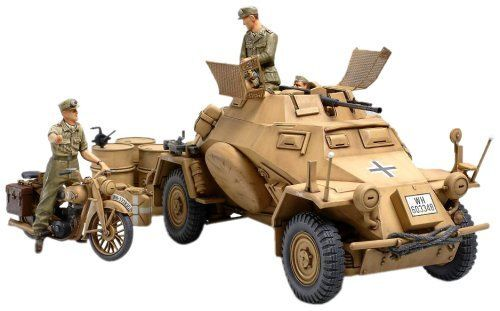 Tamiya1 35germany4-wheel Acorazada Reconocimiento Vehiclessd.kfz.222model