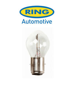Ring - 12v 35/35w BA20d - S2 - Motorcycle Headlight Bulb - RMU395
