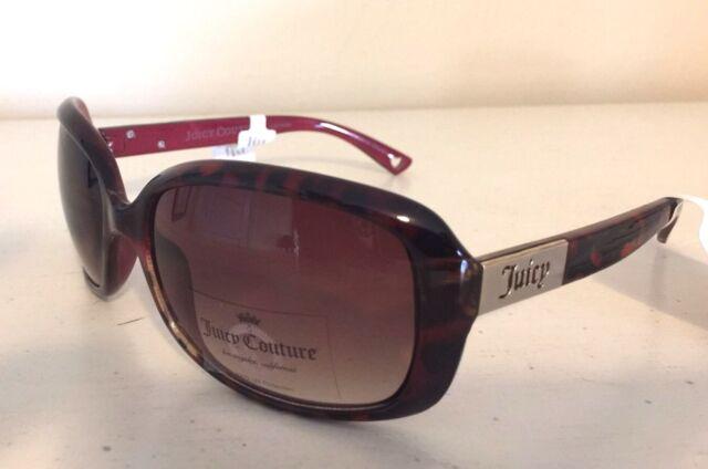 41b092033cc NWT Juicy Couture Womens Sunglasses Eyewear AJCN15006Z Tortoise MSRP  98